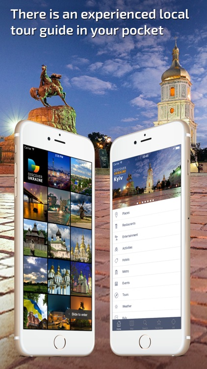 Kiev Travel Guide & offline city map screenshot-0