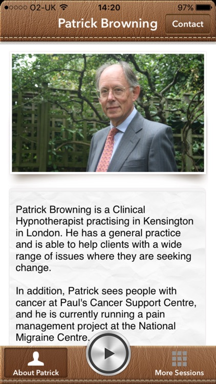 Learn self-hypnosis with Patrick Browning by Patrick Browning