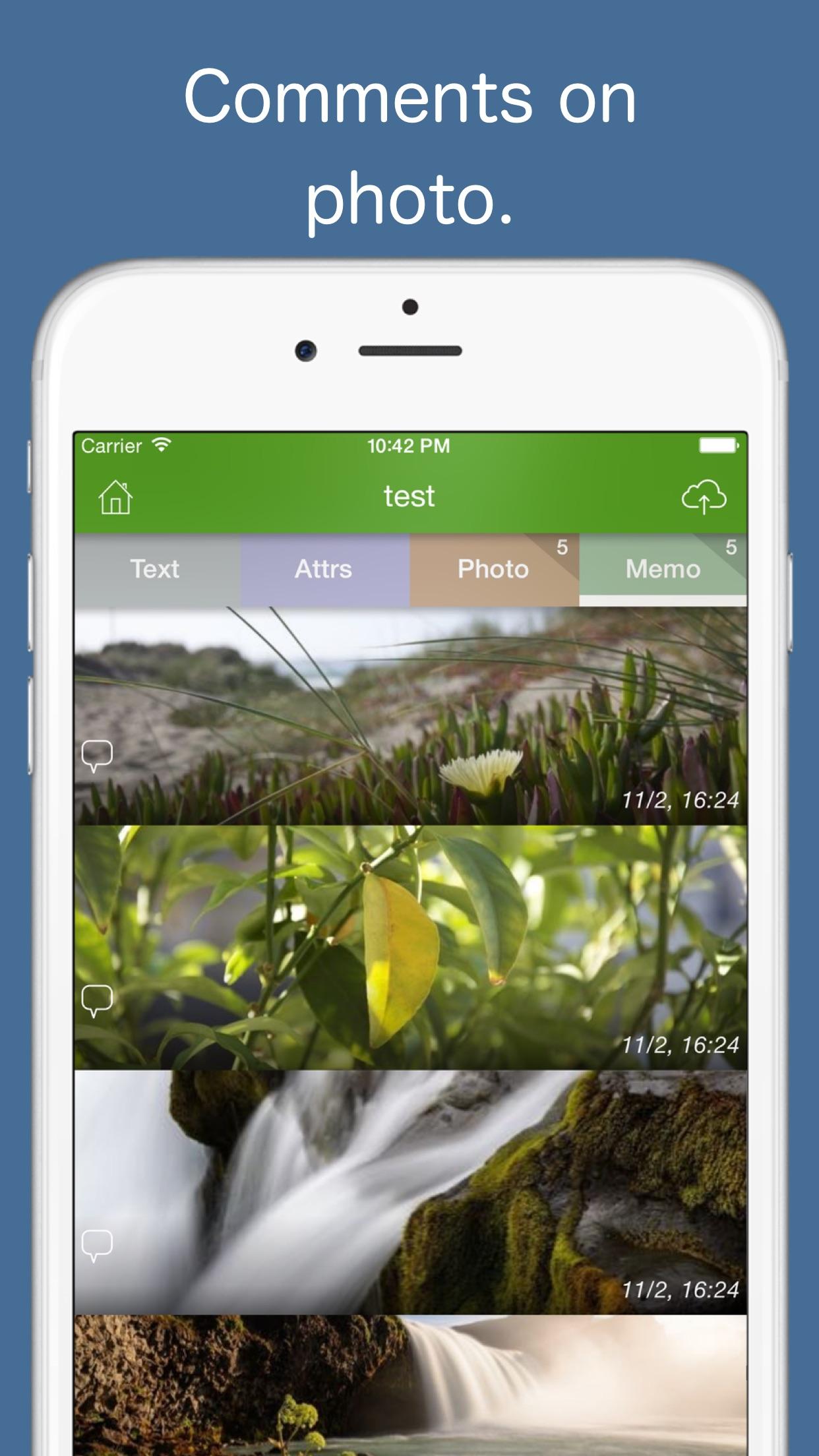 Screenshot do app EverGear for Evernote