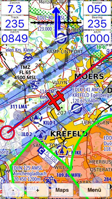 Flymap - Moving Map System screenshot two