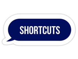 Get your point across with Shortcuts