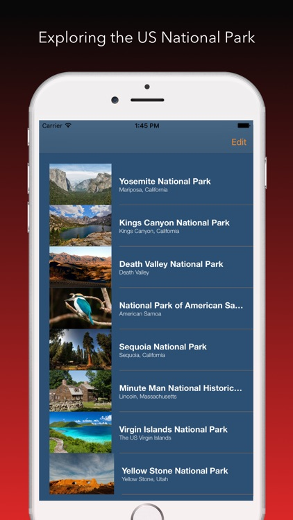 US National Park Finder screenshot-3