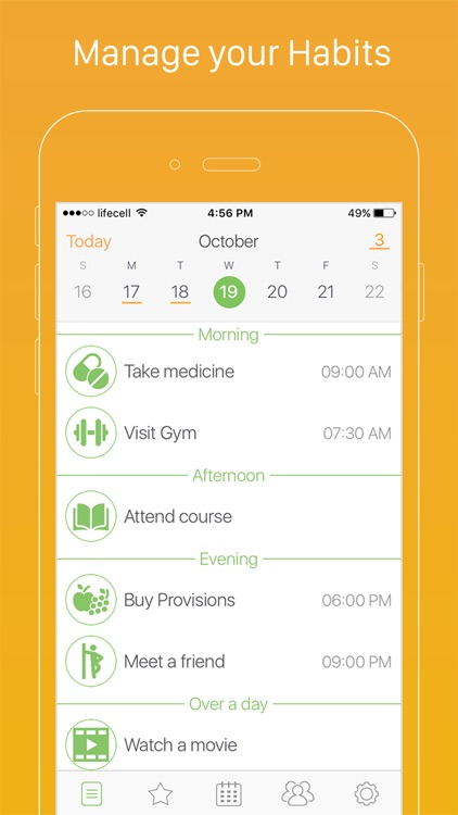 Daily Habits - Habit List and Routine Tracker screenshot-0