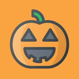 Halloween Sticker Message