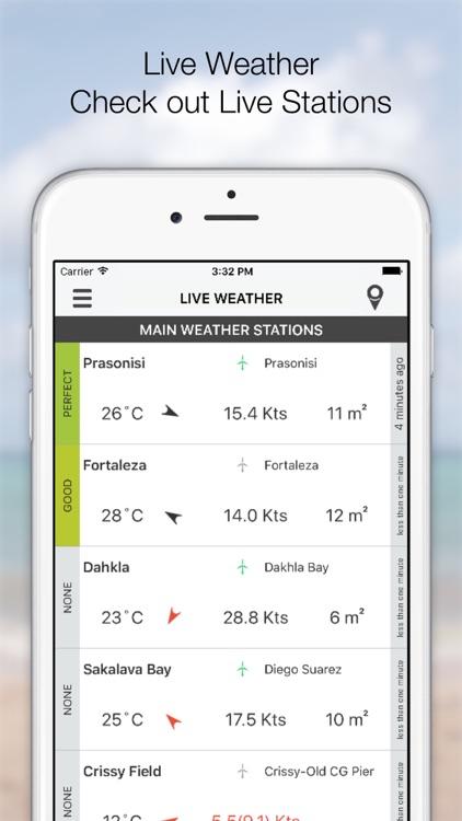 KiteSpotter - Kitesurf wind and weather forecast