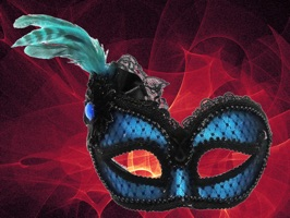 With 30 sets of party masks, you can turn your close-up all the sudden into a beautiful and elegant look