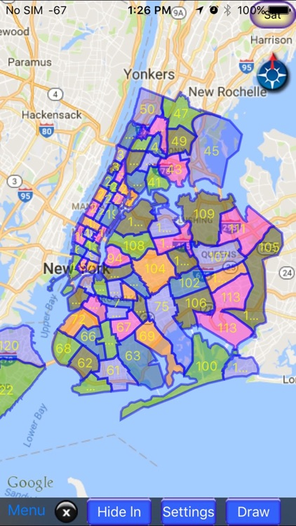 NYPD Precinct Map