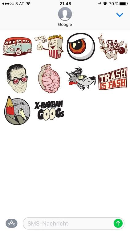 KitschArmy – popart stickers by PixelHero