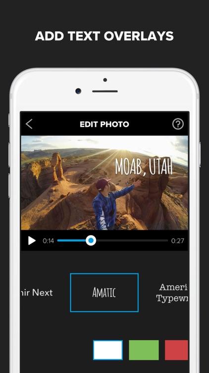 Splice - Video Editor + Movie Maker by GoPro screenshot-3