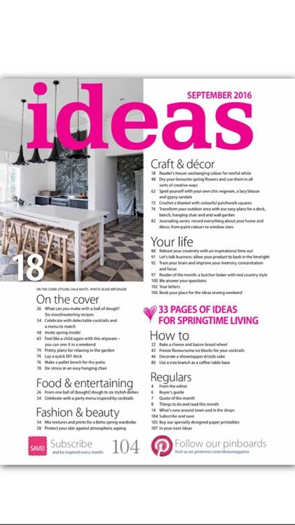 Ideas Magazine screenshot-4