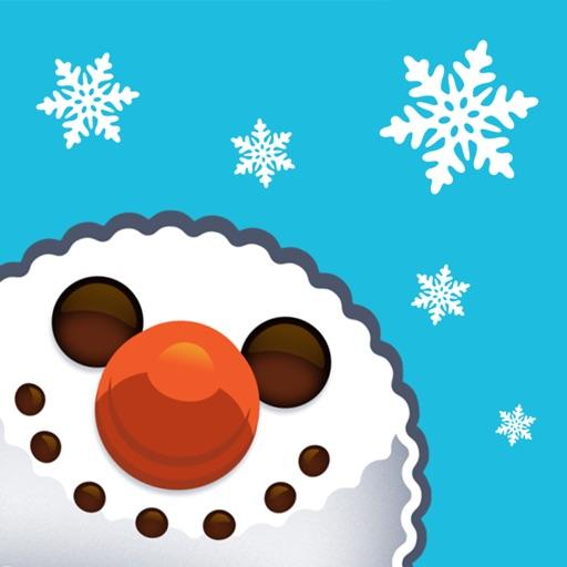 Christmas Selfie Stickers