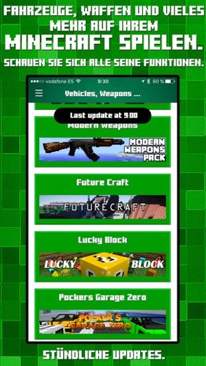 VEHICLES WEAPONS MODS For Minecraft Pc Guide Im App Store - Minecraft spielen mit mods