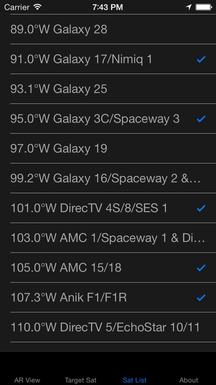 SatFinder - Find TV Satellites screenshot-3
