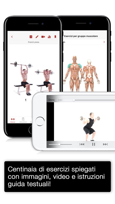 Screenshot for Full Fitness : Exercise Workout Trainer in Italy App Store
