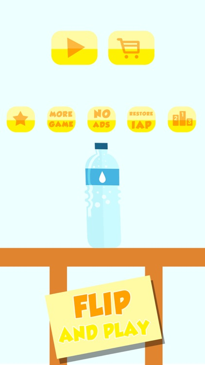 Water Bottle flip: Endless Challenge
