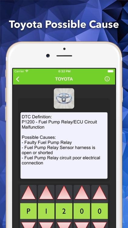 OBD2 Enhance Trouble Codes screenshot-4