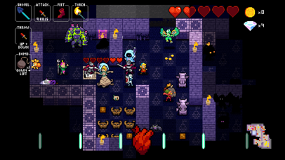 Screenshot from Crypt of the NecroDancer
