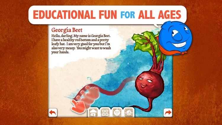 Veggie Bottoms SD Healthy Eating Made Fun for Kids screenshot-3