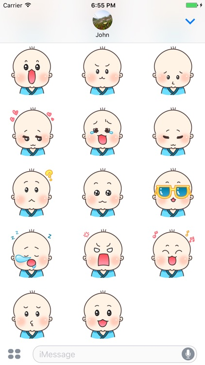 Little Baby Stickers screenshot-3