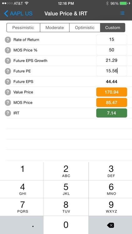 Stock Value Analyzer Pro screenshot-3