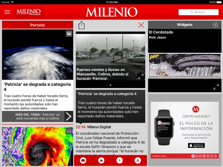 Milenio Impreso screenshot-4