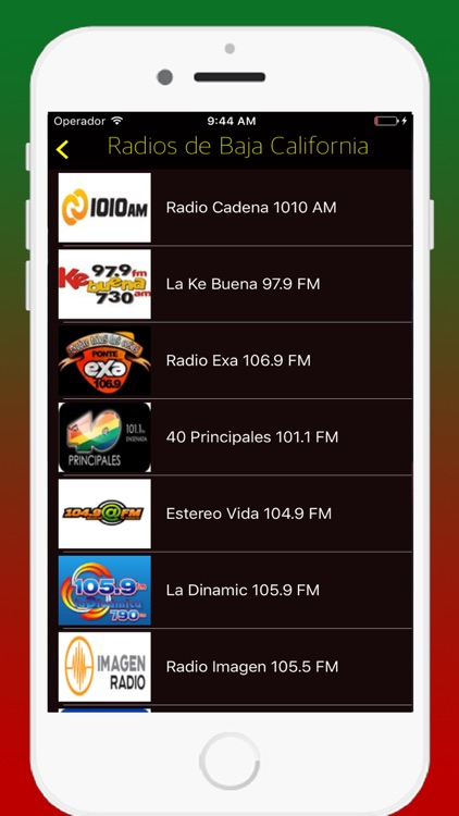 Radio Mexican - Live Radios stations Online FM AM screenshot-2