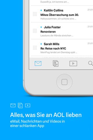 AOL: News Email Weather Video screenshot 1