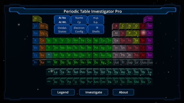 Periodic table investigator pro on the app store screenshots urtaz Image collections