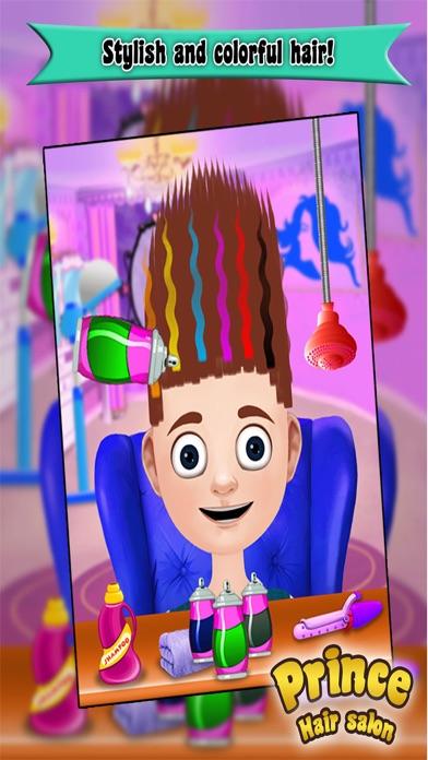 Prince Hair Salon: Hair salon games for girls-0