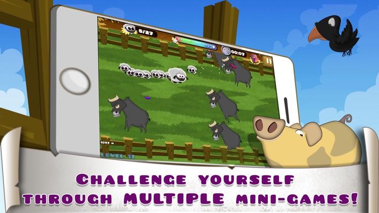 Hay Ewe - A sheep's farm puzzle adventure screenshot-3