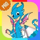 Драконы Раскраски для Детей PRO - Игры Раскраски Животные icon