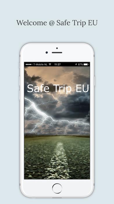 Safe Trip EUのおすすめ画像1