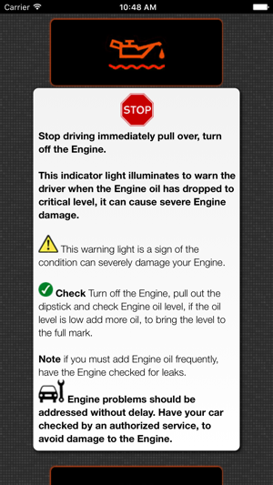 To Identify Car Problems Car Warning Lights On The App Store