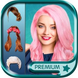 Hairstyles & haircuts Makeover photo editor -Pro