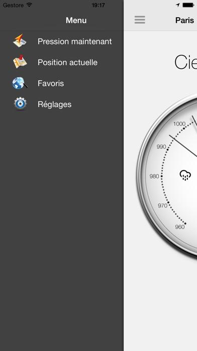 Screenshot #2 pour Baromètre - Pression atmosphérique