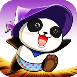Panda Magic-Jump Action Game