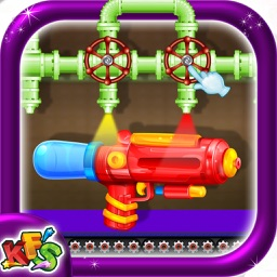 Water Gun Factory – Adventurous & creative toy making fun game mania