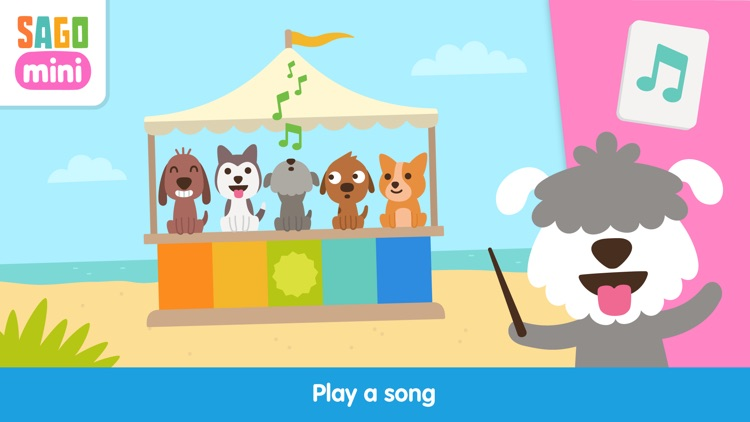 Sago Mini Puppy Preschool screenshot-3