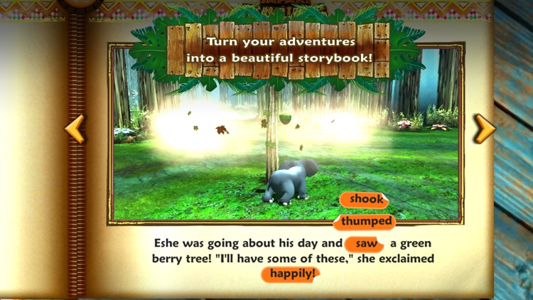 Safari Tales - literacy skills from creative play screenshot-4