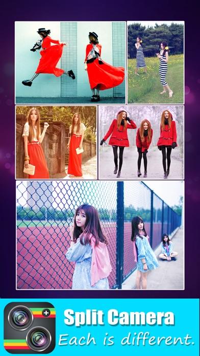 Split Camera - Mirror Pic Crop app image