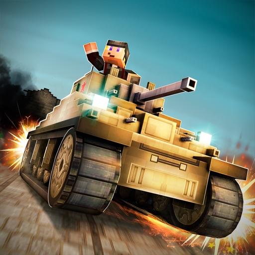 танк бум! майнкрафт война бак 3д онлайн игра