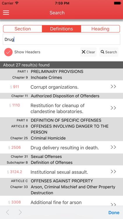 PA Judiciary and Judicial Procedure screenshot-3
