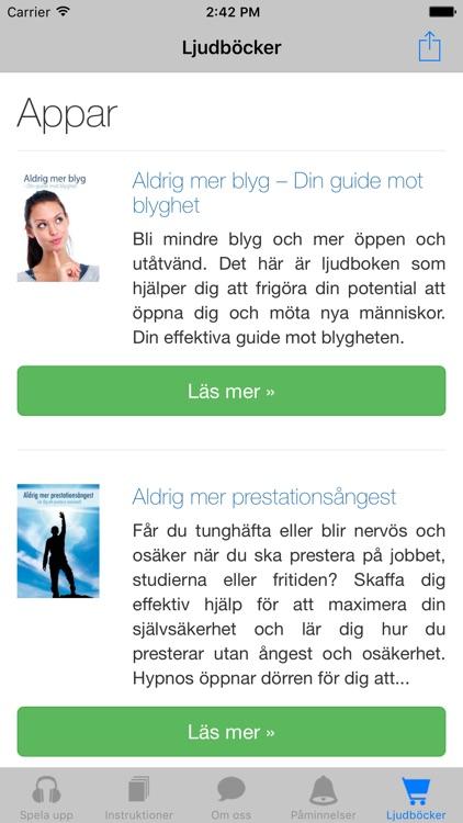 Sluta röka - rökfri med hypnos screenshot-4