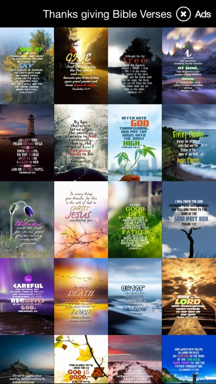 Thanksgiving Bible Verses : HD Wallpapers
