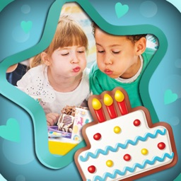 Happy Birthday Photo Frames & Greeting Cards Maker