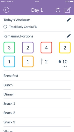21 Day Fix Tracker Official On The App Store