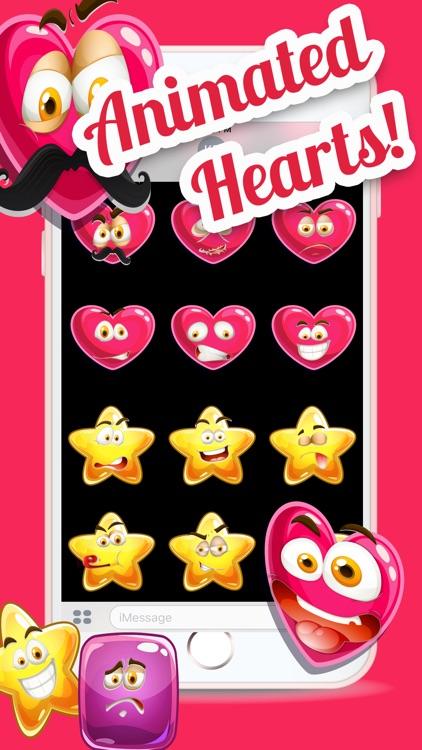 Animated Hearts Emoji