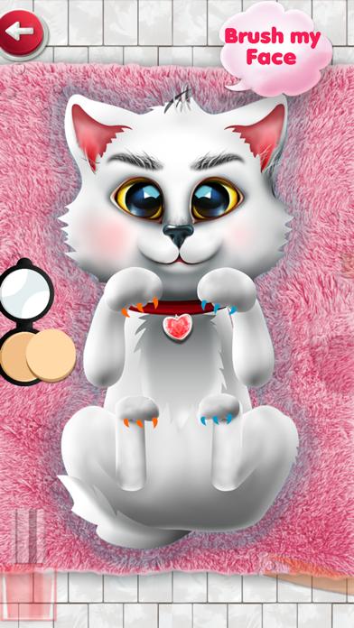 Kitten Salon : kitty games & kids games for girls screenshot two