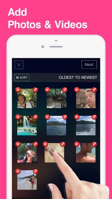 SlideShow Movie Video Maker app image
