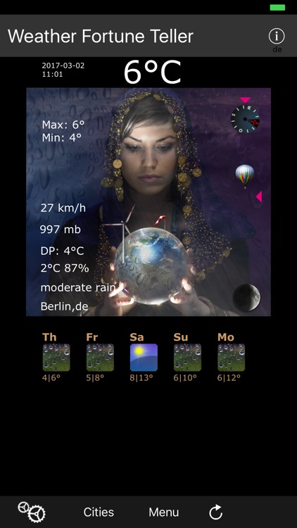 Weather Fortune Teller
